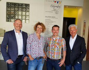 Beate Armbruster, Michael Ochs, Volker Geyer und Thomas Issler