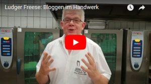 Ludger Freese, Bloggen im Handwerk